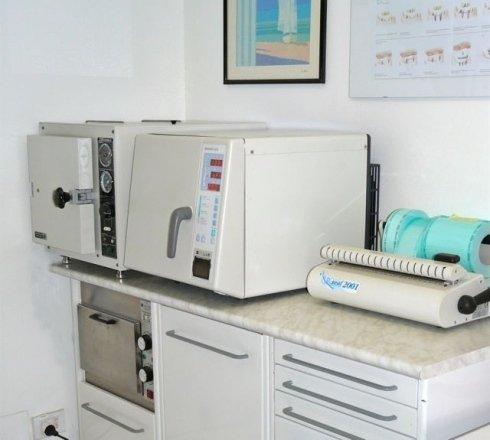 sala sterilizzazione strumenti