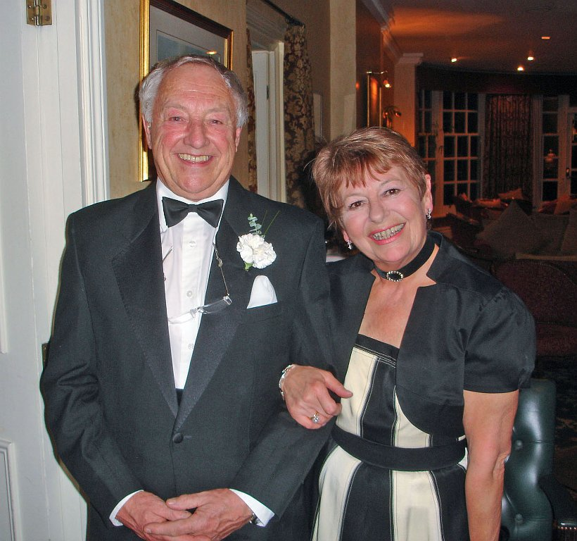 W Bro Alan Verney with his wife Shirley
