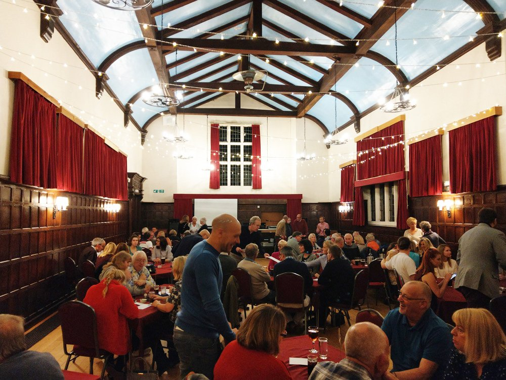 Over 85 guests joined to raise money for the 2019 Festival