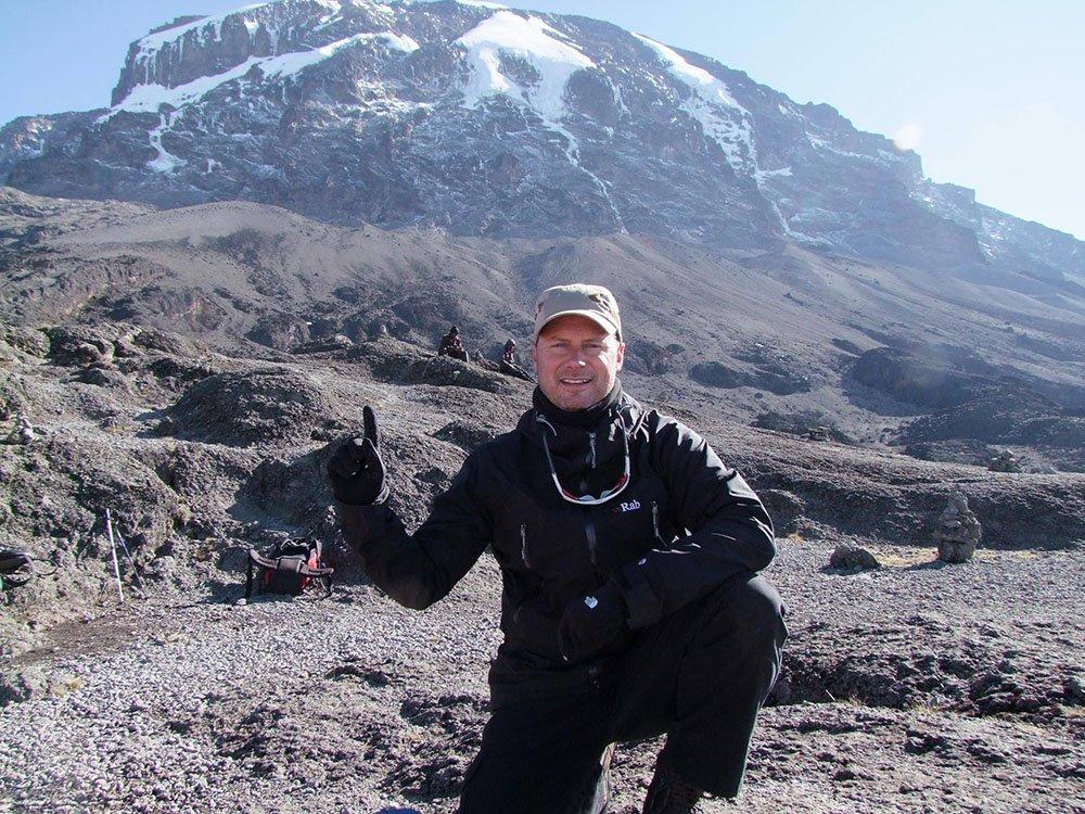 W Bro Matthew Dennis in Iceland