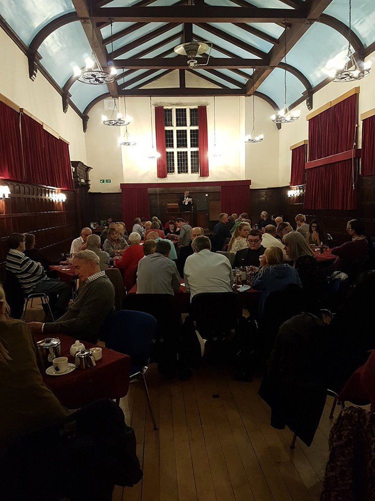 80 guests attend the third Annual Charity Quiz Night and Supper at Mayflower Place