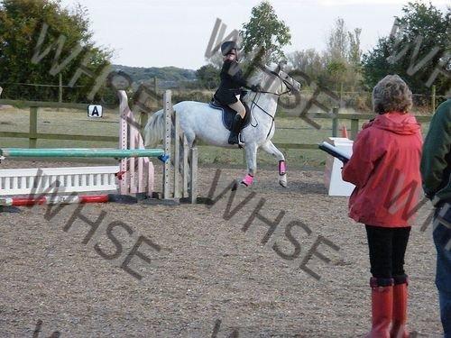 horse rider posing