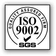 ISO 9002 SGS logo