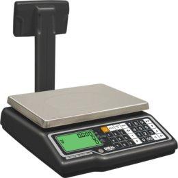 bilancia elettronica con visualizzazione del peso