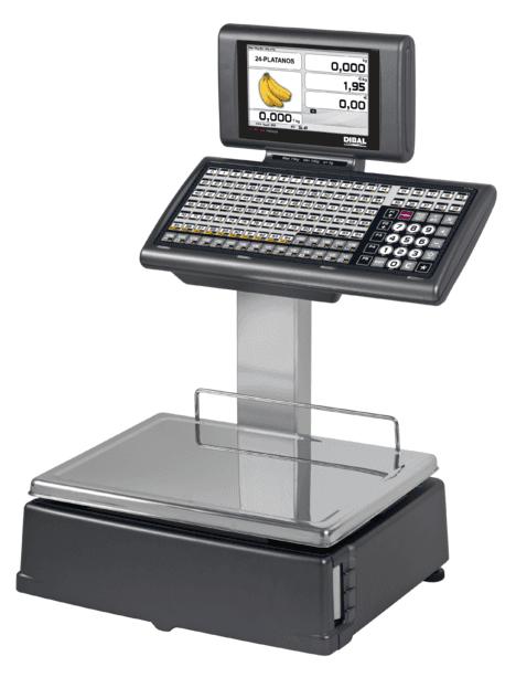 bilancia elettronica con schermo