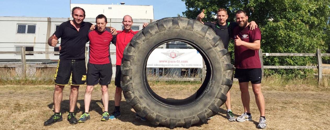 huge tyre