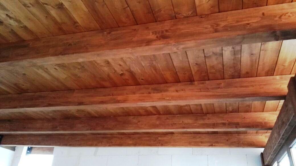 Sottotetto in legno classico