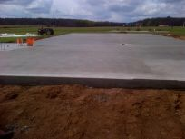 Project of our concrete contractors in Wisconsin Rapids, WI