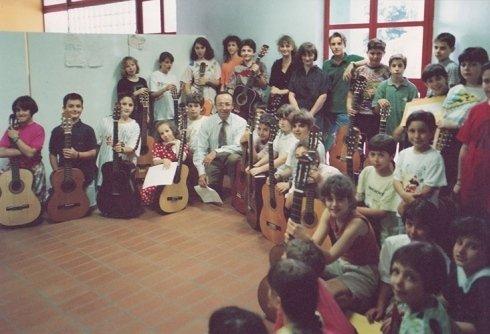 Lezioni collettive di chitarra classica