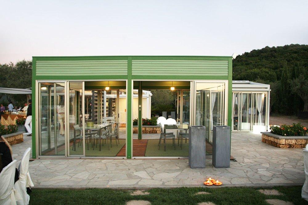 veranda verde