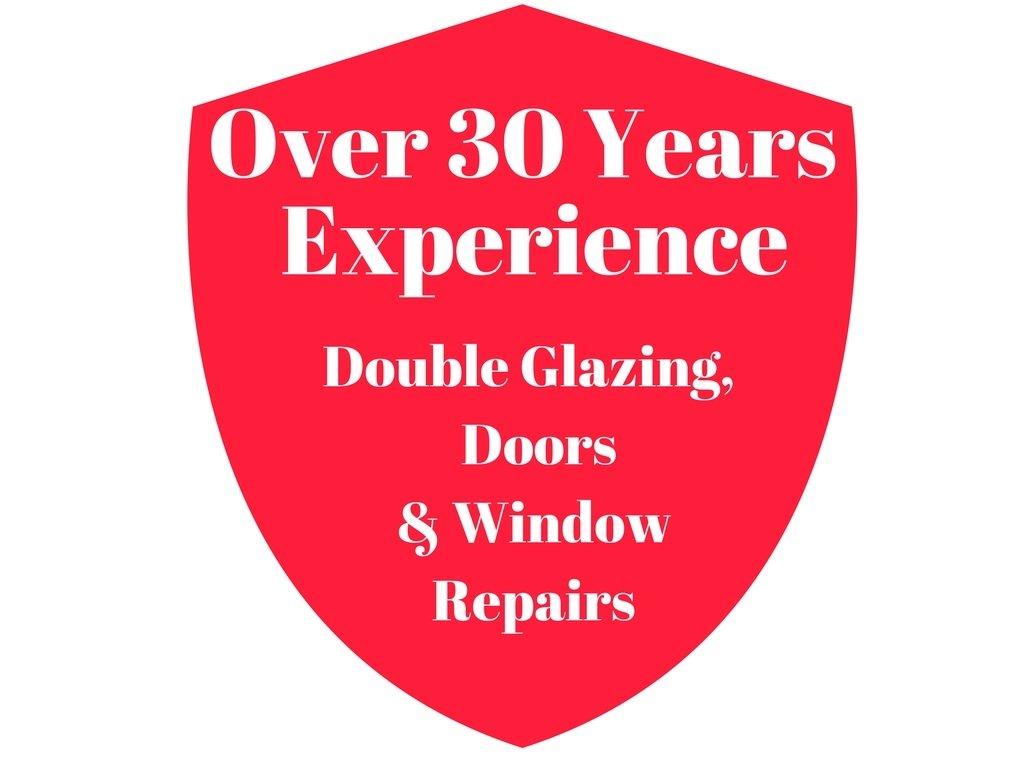 Over 30 Years Experience Window glazing repairs