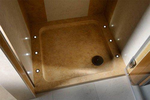 box doccia in marmo