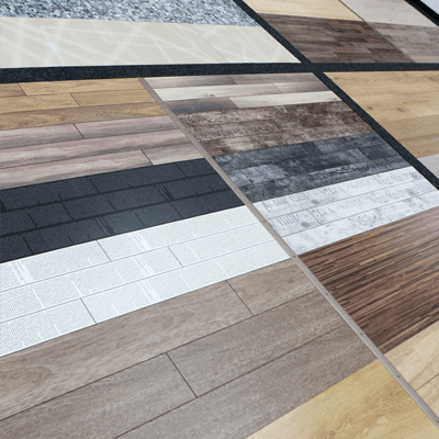 A selection of hardwood flooring options in Northern KY