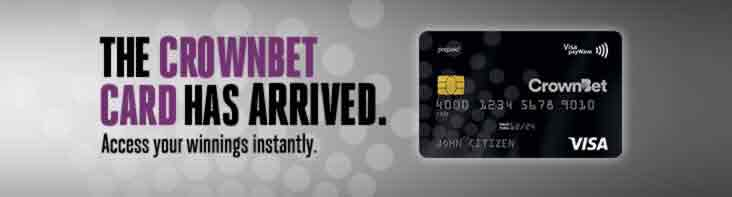 Crownbet Card Has Arrived