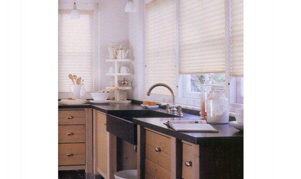 tende plisse in cucina