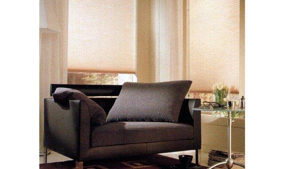 tende plissettate per soggiorno