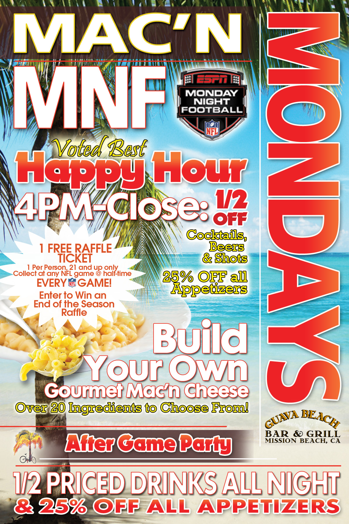 Sports bar mission beach bar grill daily specials nvjuhfo Image collections
