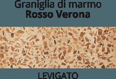 graniglia di marmo Rosso Verona - levigato