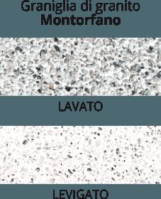 graniglia di marmo Montorfano - lavato o levigato