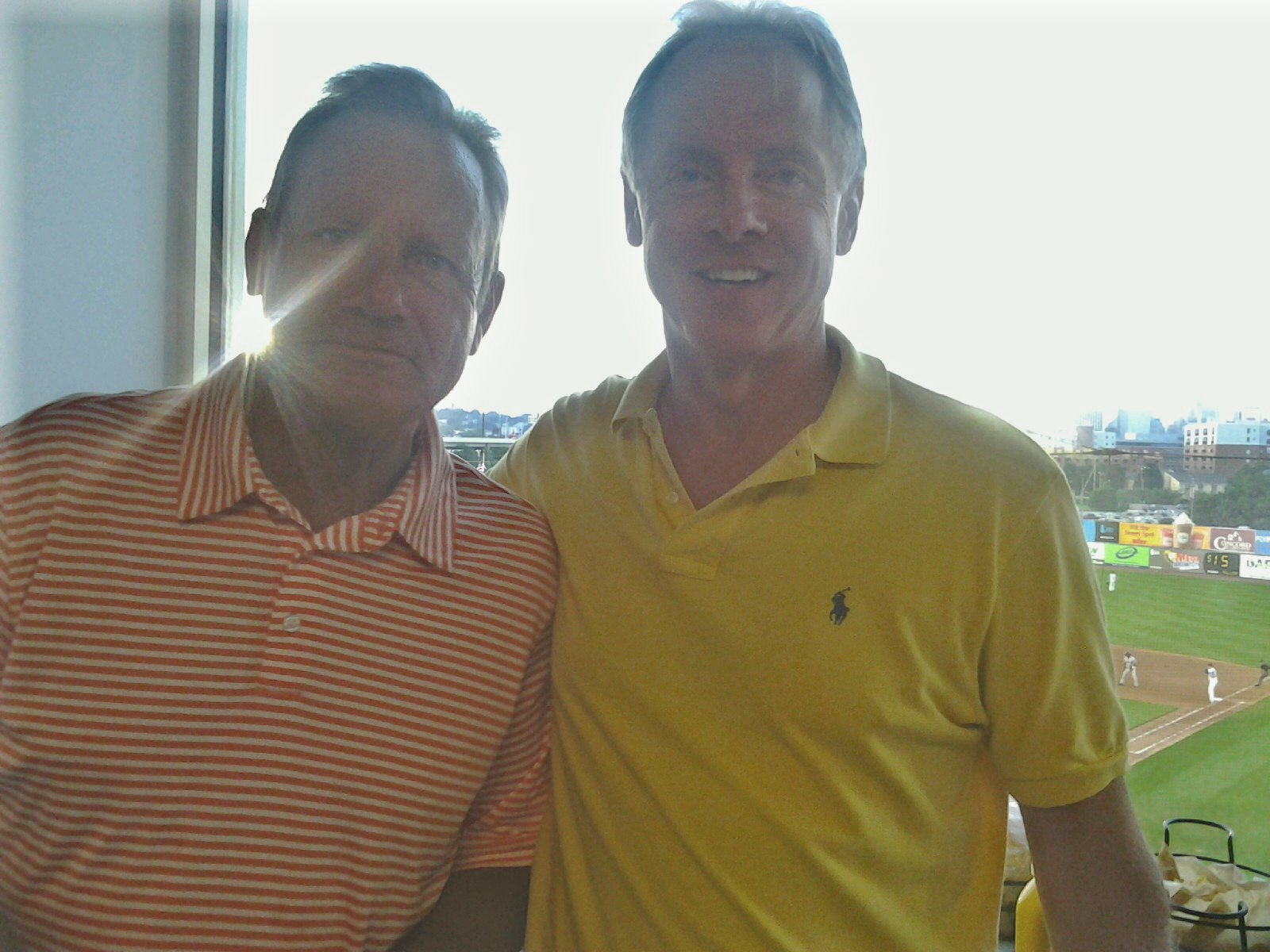 Kansas City Royal legend George Brett at Blue Rocks Stadium