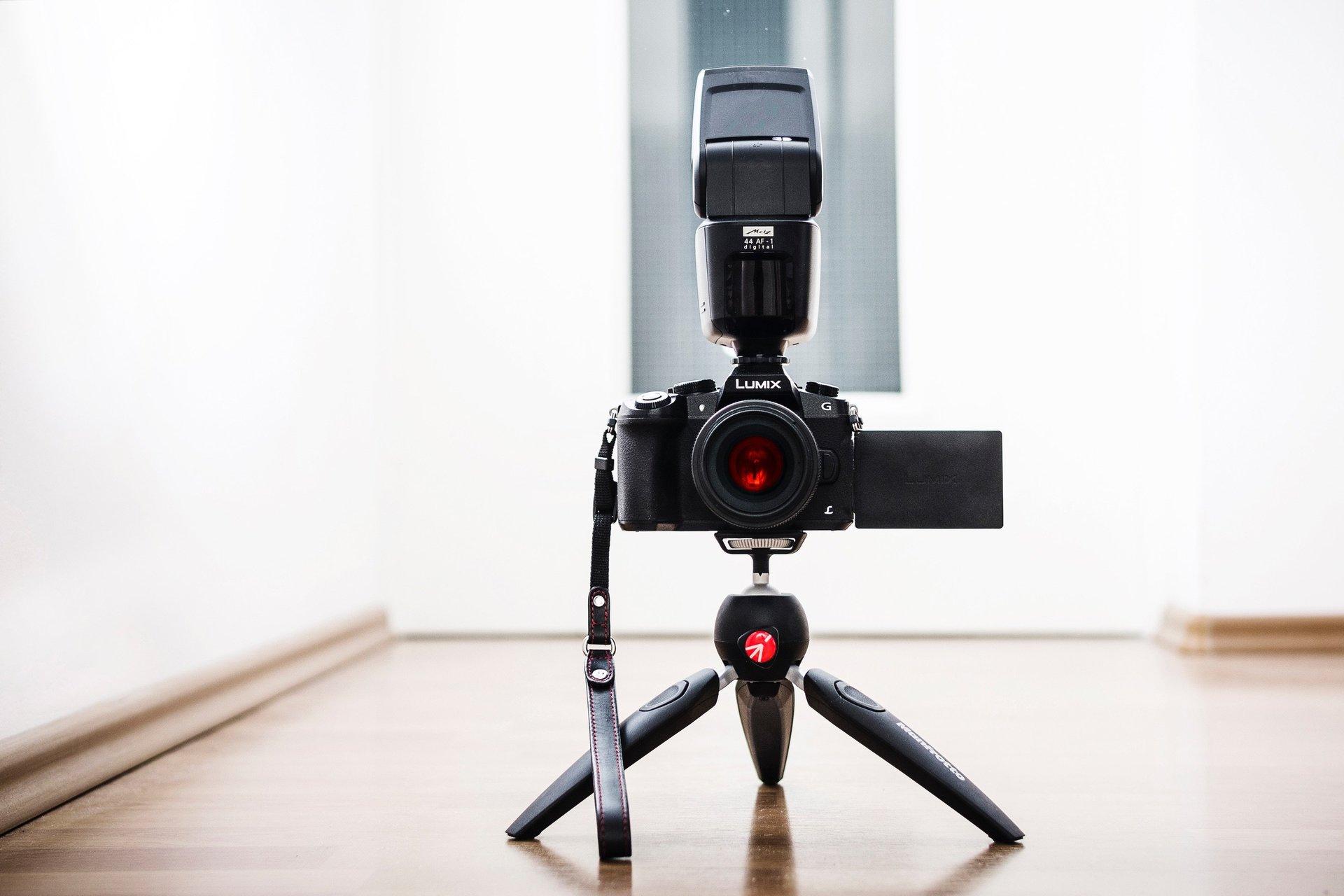Camera Flashing