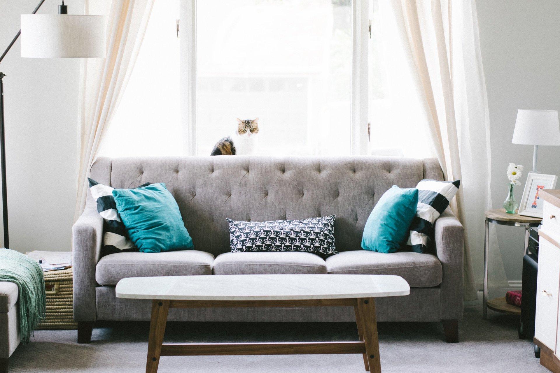 un divano imbottito