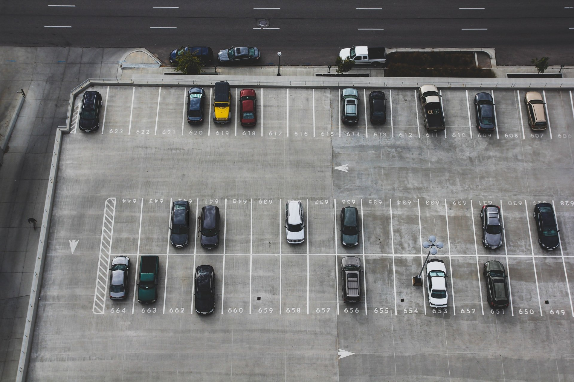 Parking design and layout