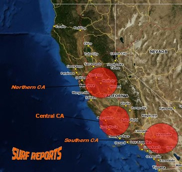 Click Red for Surf Reports