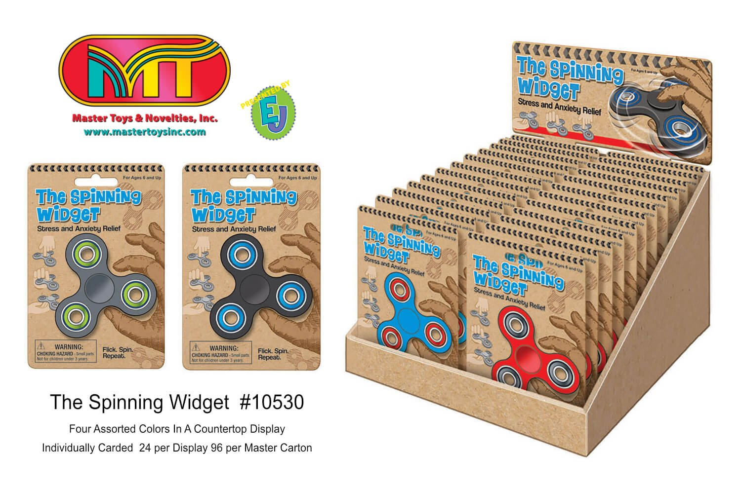 Master Toys The Spinning Widget