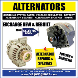 Auto Parts Store- engine parts to rebuild your engine