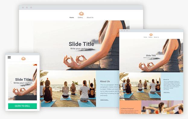 Reddrop Media Yoga Template